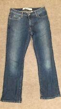 BABY PHAT Junior's Blue Boot Cut Cotton Denim Jeans Pants sz 9