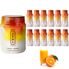 Zeal For Life **TROPIC DREAM** Canister 420g +12 Individual Bottles