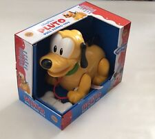 NIB Disney Parks Pluto Pull Along Baby Toy 10+ months