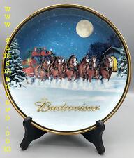 2005 Budweiser Holiday Plate