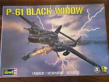 Revell 1/48 Korean War P-61 Black Widow. Plastic Model Kit.