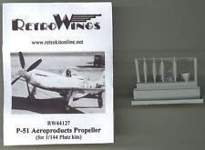 RetroKits Models 1/144 P-51D MUSTANG AEROPRODUCT PROPELLER Resin Set