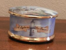 "Thomas Kinkade Music Box ""A Light In The Storm"""