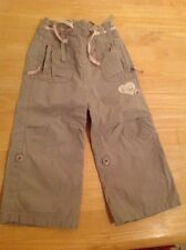 Brown Girls Combat Style Trousers NEXT - Age 18-24 Months