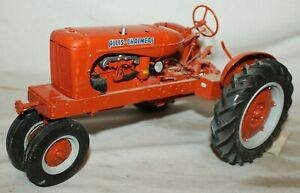 HUGE RARE~ALLIS CHALMERS WC ROW CROP TRACTOR~Franklin Mint 1:12 Scale Model Toy