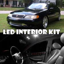 For 91-97 Lexus GS300 White LED Light Interior Full Xenon Bulb Kit QTY = 15