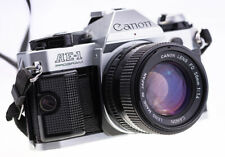 Canon AE-1 Program mit Canon nFD 50 mm f 1,4  SN 4744761 Top   ( 703 )