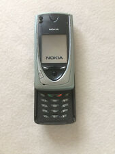 Nokia 7650 Slide Ise Blue  Unlocked GSM Phone *VINTAGE* *COLLECTIBLE*