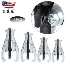 4Pcs Gear Puller Set Carbon Steel Mechanic Auto Tool Gear Pulley Car Repair Tool