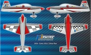 Finest Composite  EXTRA 330LC rot silber Shockflyer Slowflyer 3D