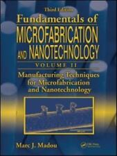 Fundamentals of Microfabrication and Nanotechnology Vol II Third Edition VG Cond
