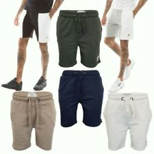 Hommes Brave Soul Gym Jogger Short Locust Salon Bas Coton Pantalon Mode Neuf