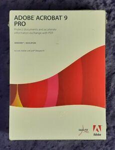 Adobe Acrobat 9 Pro for Windows New Sealed