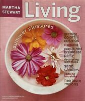 August 2002 Issue #105 of MARTHA STEWART LIVING Magazine