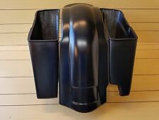 "HARLEY DAVIDSON 4""STRETCHED 2-1 SADDLEBAGS AND REAR FENDER FOR TOURING BIKES"