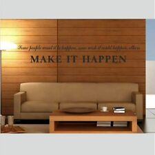 Inspirational Words & Phrases Wall Decals