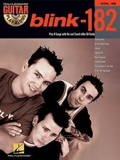 Guitar Play-Along Volume 58: blink-182 TAB Book and CD *NEW* Sheet Music, Song