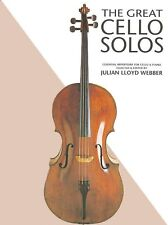 The Great Cello Solos Book New 014019310