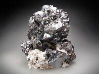 Sphalerite Crystals on Matrix, Elmwood Mine, Tennessee