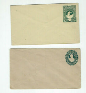 HONDURAS-POSTAL CARDS-STATIONARY-(6)-SELECTION-MINT-USED-CLASSIC EARLY-F-VF-#144