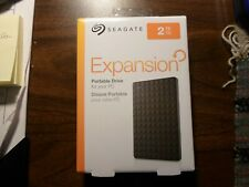 Seagate Expansion Portable 2TB  External Hard Drive HDD USB 3.0 (STEA2000400)