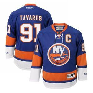 John Tavares Reebok New York Islanders Official Home Blue Premier Jersey Men's
