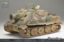 Pro Built 1:35 Sturmtiger WW2 German Assult Gun / Panzer - Tank Scale Model Kit