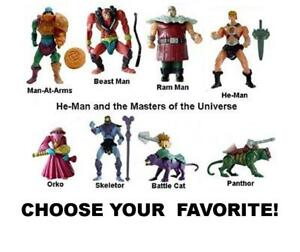 McDonald's 2003 Masters of the Universe MOTU He-man Toys-Pick Your Favorites!