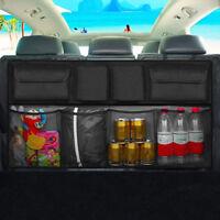 1X Universal Auto LKW Rücksitz Aufbewahrung Tasche Organizer mit Netz Kofferraum