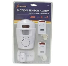 PIR Cordless Alarm Motion Sensor 4 Carp Night Fishing Put In Shed Protect Tackle