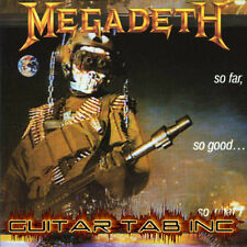 Megadeth Digital Guitar & Bass Tab SO FAR, SO GOOD... Lessons on Disc Jeff Young