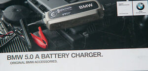 BMW Brand OEM Genuine 5.0 AMP Euro Spec Battery Charger All Models Brand New