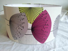 "18"" DRUM LAMPSHADE HANDMADE IN UK WITH  Sanderson Wallpaper  DANDELION CLOCKS"