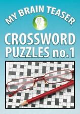 My Brain Teaser Crossword Puzzle No. 1 by Shannon Wright (2013, Book, Other)