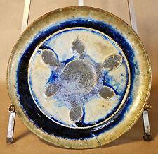 Alexandre Bigot (1862-1927) Dinner Plate 6 French Art Nouveau Pottery