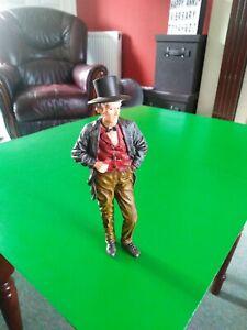 Victorian Dolls House Resin 1/12 Scale Gentleman Figure (16cm)