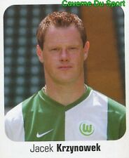 481 JACEK KRZYNOWEK POLAND VFL WOLFSBURG STICKER FUSSBALL 2007 PANINI