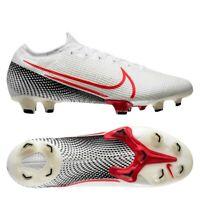 Nike Mercurial Vapor 13 Elite FG White Crimson New Size 8.5 US AQ4176 160