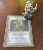 Yu-Gi-Oh  Vorse Raider Dungeon Dice Monsters DDM Mini Figure and card