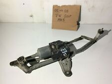 2007 VW GOLF MK5 FRONT WIPER MOTOR AND LINKAGE 3C2955119