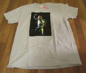 Supreme Raphael Tee T-Shirt Size Medium Heather Grey SS21 Ninja Turtles 2021 DS