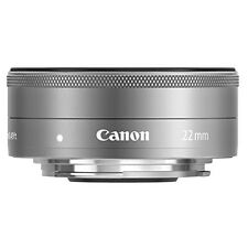 Canon EF-M22mm F2 STM Single-focus Wide-angle Lens Silver EF-M222STMSL New!