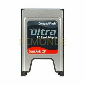SanDisk Ultra Compact Flash to PC Card PCMCIA Adapter (SDDR-64-784) (pp)