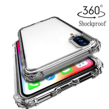 For Samsung A10S A20S A30S A50S Shockproof Bumper Clear Silicone TPU Case Cover
