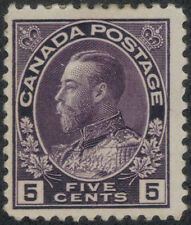 TMM* 1911-25 Canada KGV S#112 VF mint/hinge/old gum