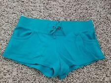 "Junior's ""OP"" Blue Cheer Gym/Fitness Jog Sportswear Shorts - size M (7-9)"
