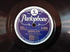 78obrotów Chu Berry - Limehouse Blues / Ebb Tide Parlophone R3038