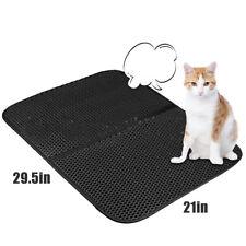 Best Cat Litter Mat Double Layer 760*600mm, Layer Honeycomb Trapper Mat Usa
