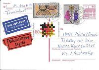 CLB62) Nice W. Germany 1983 Card German Customs, Fed State Gov.'s, Christmas