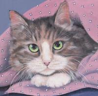 Cats tabby Cat Limited Edition Fine Art Print- Original Painting by S Barratt